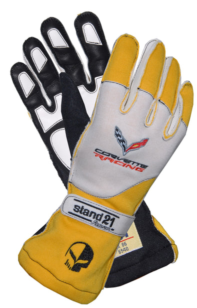 C7 Corvette Racing Carrera OS II Gloves - [Corvette Store Online]