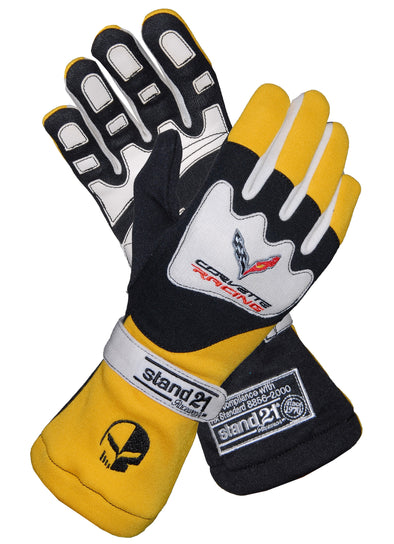 C7 Corvette Racing Daytona Gloves - [Corvette Store Online]