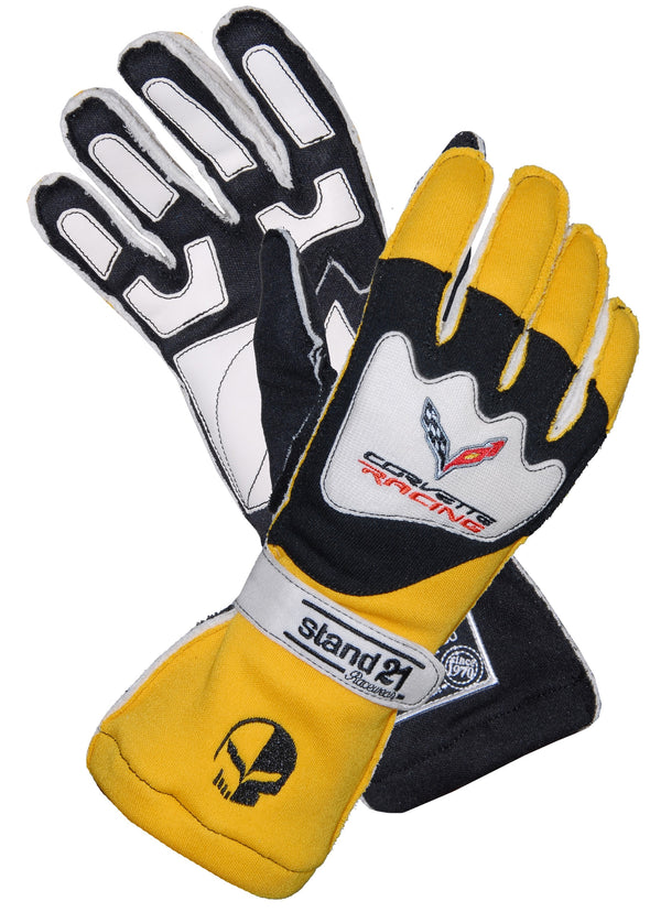 C7 Corvette Racing OS II Driving Gloves - [Corvette Store Online]