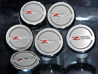 Z06 Corvette Engine Fluid Cap Cover | 6Pc Set - [Corvette Store Online]