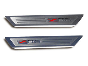 Corvette Z06 Logo | Doorsills Executive Series | 2006-2013 - [Corvette Store Online]