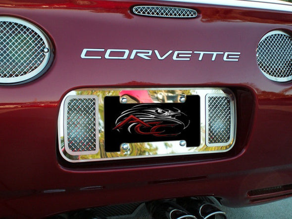 C5/Z06 Corvette Rear Bumper Letter Set | Polished | 1997-2004 - [Corvette Store Online]