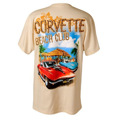 C2 Corvette Mid-Year Beach Club T-Shirt - [Corvette Store Online]