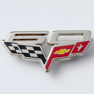 60th Anniversary Corvette Hat Pin - [Corvette Store Online]