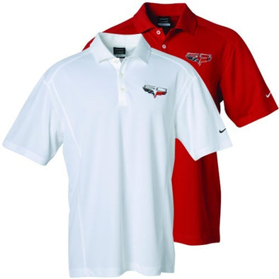 C6 60th Anniversary Corvette Nike Dri-Fit Polo - [Corvette Store Online]