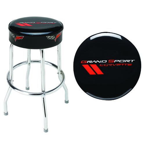 Corvette Grand Sport Counter Stool - [Corvette Store Online]