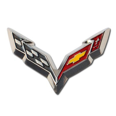 C7 Beveled Corvette Stingray Lapel Pin - [Corvette Store Online]