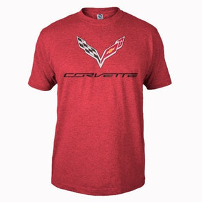 C7 Corvette Heather Tee - [Corvette Store Online]