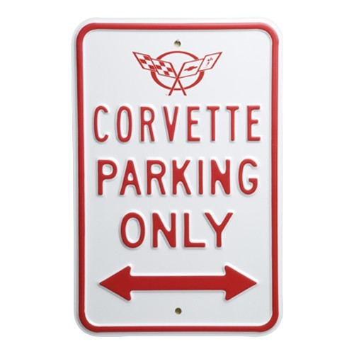 C5 Corvette Parking Sign - [Corvette Store Online]