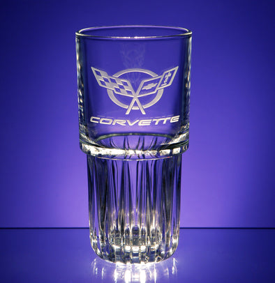 Corvette Logo Everest-Duratuff Cooler Glass