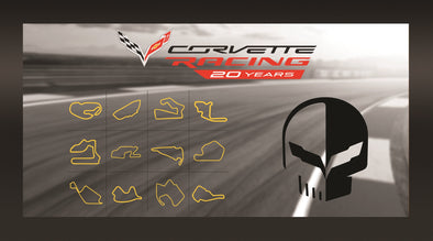 Corvette Racing 20 Years Framed Artwork
