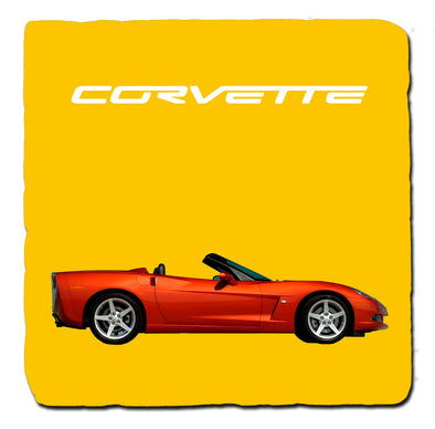 C6 Corvette Generations 2000 Stone Coaster