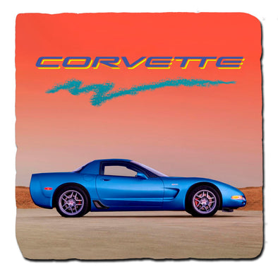 C5 Corvette Generations 1996 Stone Coaster