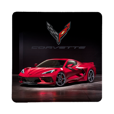 Next Generation C8 Corvette Stone Coaster