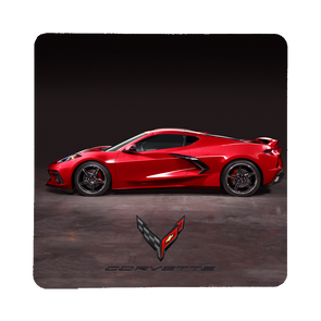 Next Generation C8 Corvette Side View Stone Coaster