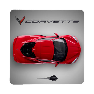 Next Generation C8 Corvette Top View Stone Coaster