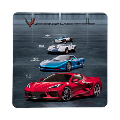Next Generation C8 Corvette –Mid-Engine Concepts Stone Coaster