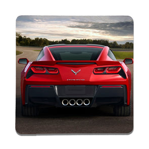 C7 Corvette Red Coupe Stone Coaster