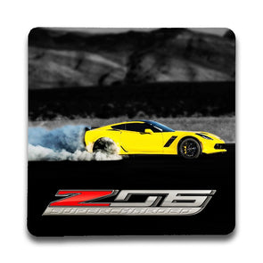 C7 Corvette Z06 Supercharged Stone Coaster