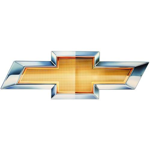 Chevy Bowtie 2010 Metal Sign