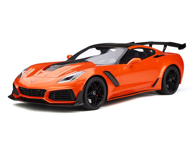 C7 Corvette ZR1 Sebring Orange with Carbon Top 1:12 Die Cast - [Corvette Store Online]
