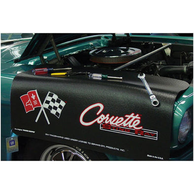 C2 Corvette Fender Gripper Fender Cover, Black - [Corvette Store Online]