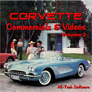 Corvette Commercials and Videos-Volume 2  2012-2015- DVD