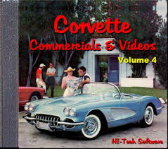 Corvette Commercials and Videos-Volume 4 DVD