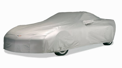 C6 Corvette Intro-Guard Car Cover (Silver) with Embroidered Logo - [Corvette Store Online]