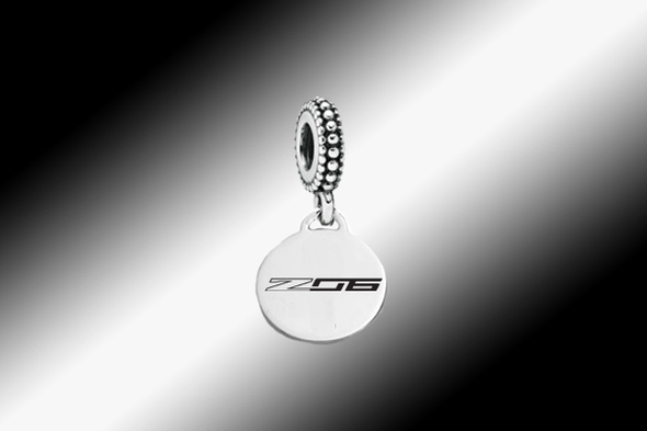 C7 Corvette Various Emblems | Pandora-Style Dangle Bead - [Corvette Store Online]