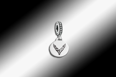 C8 Corvette Next Generation Pandora-Style Dangle Bead - [Corvette Store Online]