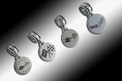 Corvette Pandora-Style Color Dangle Bead (C1-C3) - [Corvette Store Online]