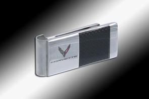 C8 Corvette Next Generation Money Clip - [Corvette Store Online]