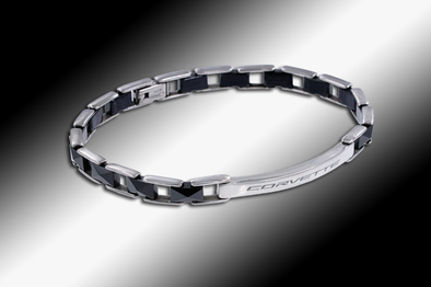 C8 Corvette Next Generation Ladies Black Ceramic Bracelet - [Corvette Store Online]