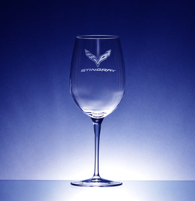Corvette Logo Luigi Bormoili Crescendo Bordeaux Glass (2)