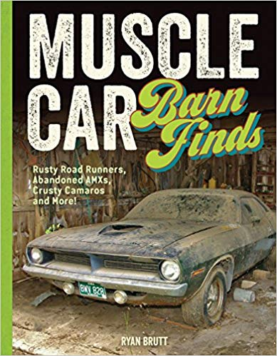 Muscle Car Barn Finds - Hardcover - [Corvette Store Online]