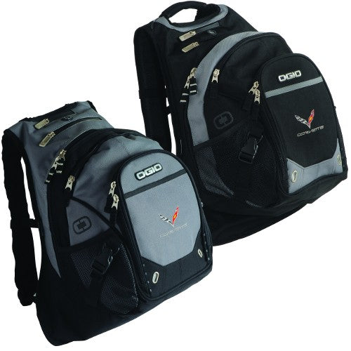 OGIO Stingray Fugitive Backpack-Black or Gray - [Corvette Store Online]