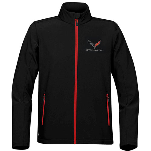 Men's C7 Corvette Stingray Matrix Soft Shell Jacket