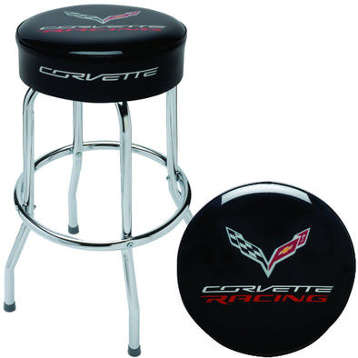 Corvette Racing Counter Stool - [Corvette Store Online]