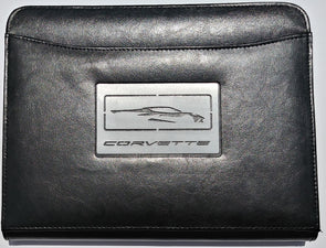 Next Generation Corvette Leather Padfolio - [Corvette Store Online]
