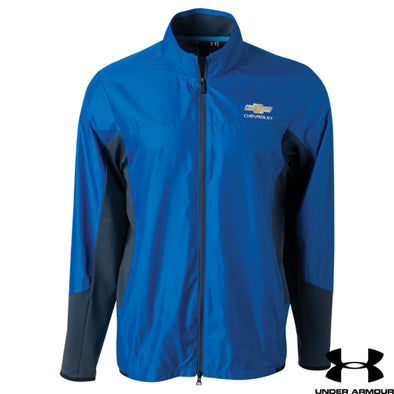 Chevrolet Men's Under Armour Groove Hybrid Jacket - corvettestoreonline-com
