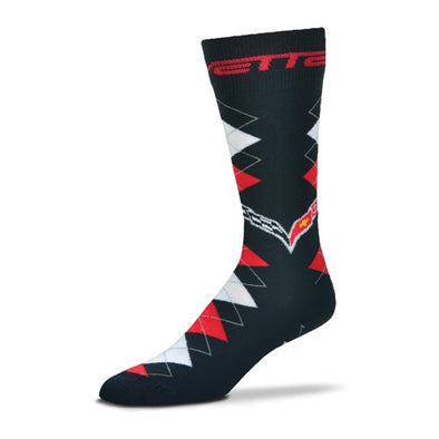 C7 Corvette Fan Nation Trouser Sock - [Corvette Store Online]