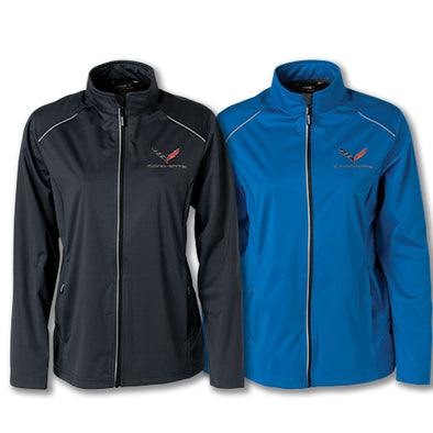 C7 Corvette Ladies Lite Three Layer Jacket - [Corvette Store Online]
