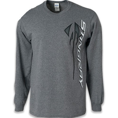 Corvette Stingray Long Sleeve Tee - [Corvette Store Online]