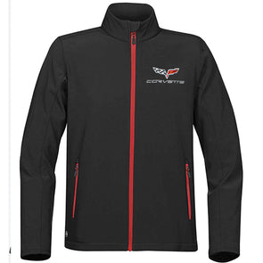 Men's C6 Corvette Matrix Soft Shell Jacket