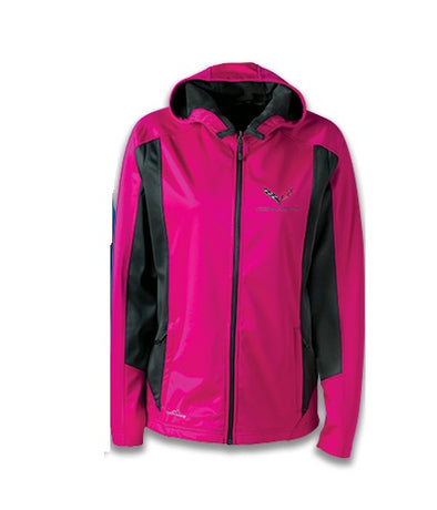 C7 Corvette Ladies Eddie Bauer Soft Shell Jacket - [Corvette Store Online]