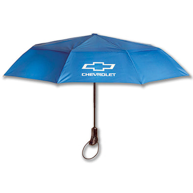 Chevrolet Bowtie Auto Open/Close Umbrella - [Corvette Store Online]