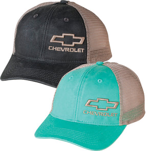 Ladies' Chevrolet Bowtie Ponytail Back Cap - [Corvette Store Online]