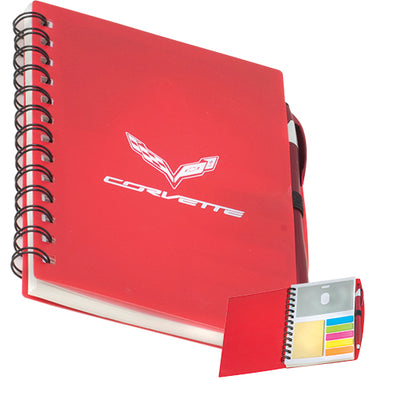C7 Corvette Spiral Bound Journal Book - [Corvette Store Online]