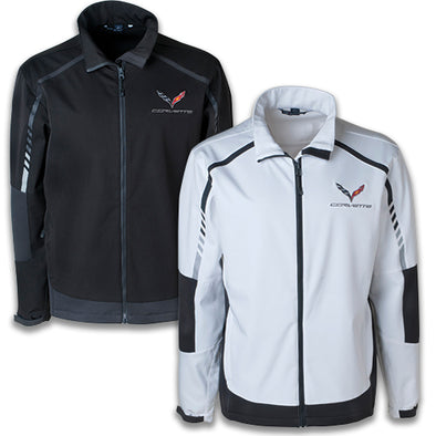 C7 Corvette Stingray Embark Soft Shell Jacket